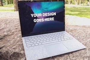 Microsoft Laptop Mock-up #27
