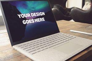Microsoft Laptop Mock-up #23