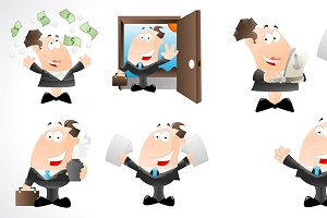 Office Cartoons Characters