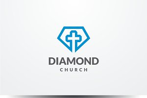 Diamond Church Logo