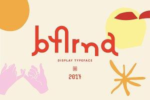 Barna Typeface