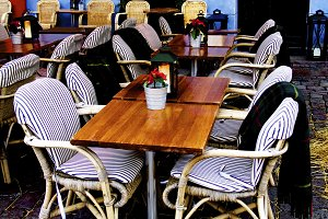Rustic Sidewalk Cafe