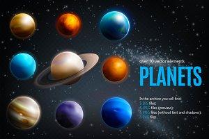 Sale! Planets Realistic Set
