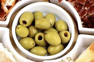 Spanish Snacks and Cheeses