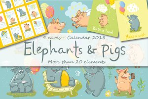 Elephants & Pigs