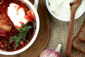 Ukrainian Traditional Beet Soup