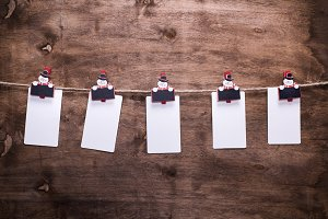 white paper tags