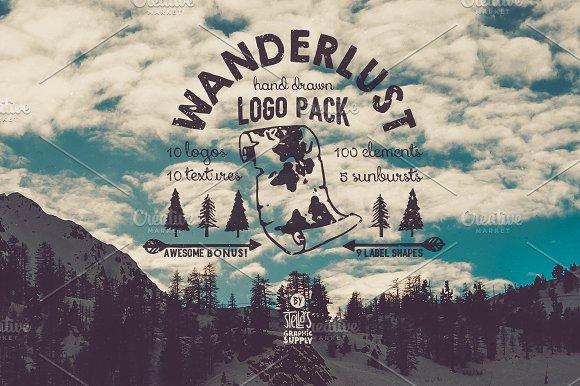 Wanderlust Logo Pack