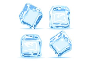Ice cubes set