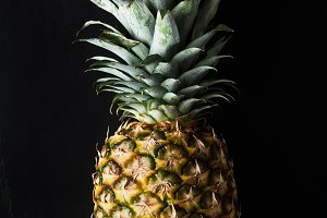 ripe whole pineapple