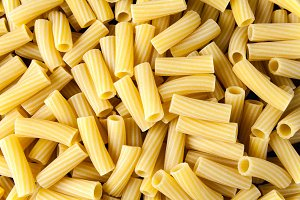 Italian pasta background. Closeup