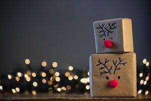 Reindeer presents