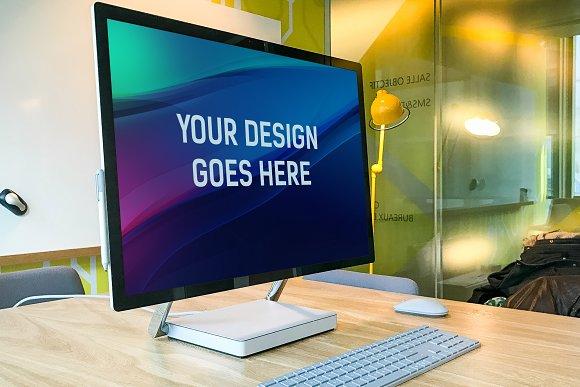 Microsoft Studio Mock-up Pa-Graphicriver中文最全的素材分享平台