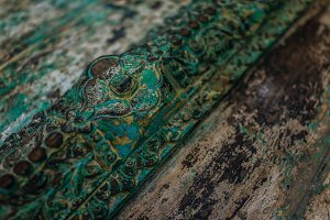 Antique Wooden Decay