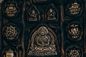 Buddhist Wall Decor