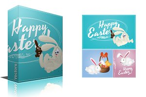Happy Easter Vector Designs