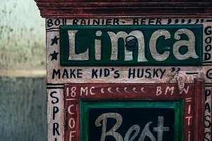 Limca Hand Painted Typography