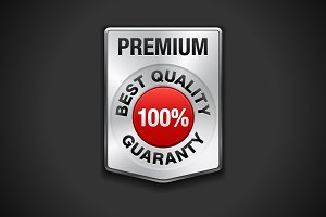 Metal premium badge. Best Quality.