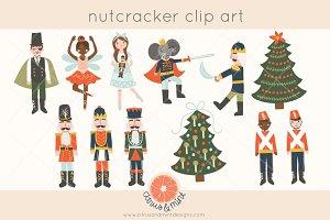 nutcracker ballet clip art