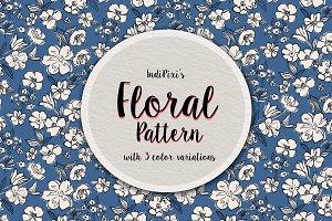 Sketchy Floral Pattern