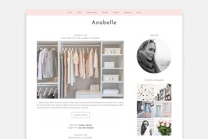 Anabelle Wordpress Genesis Theme