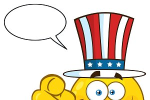 Emoji Face With Speech Bubble