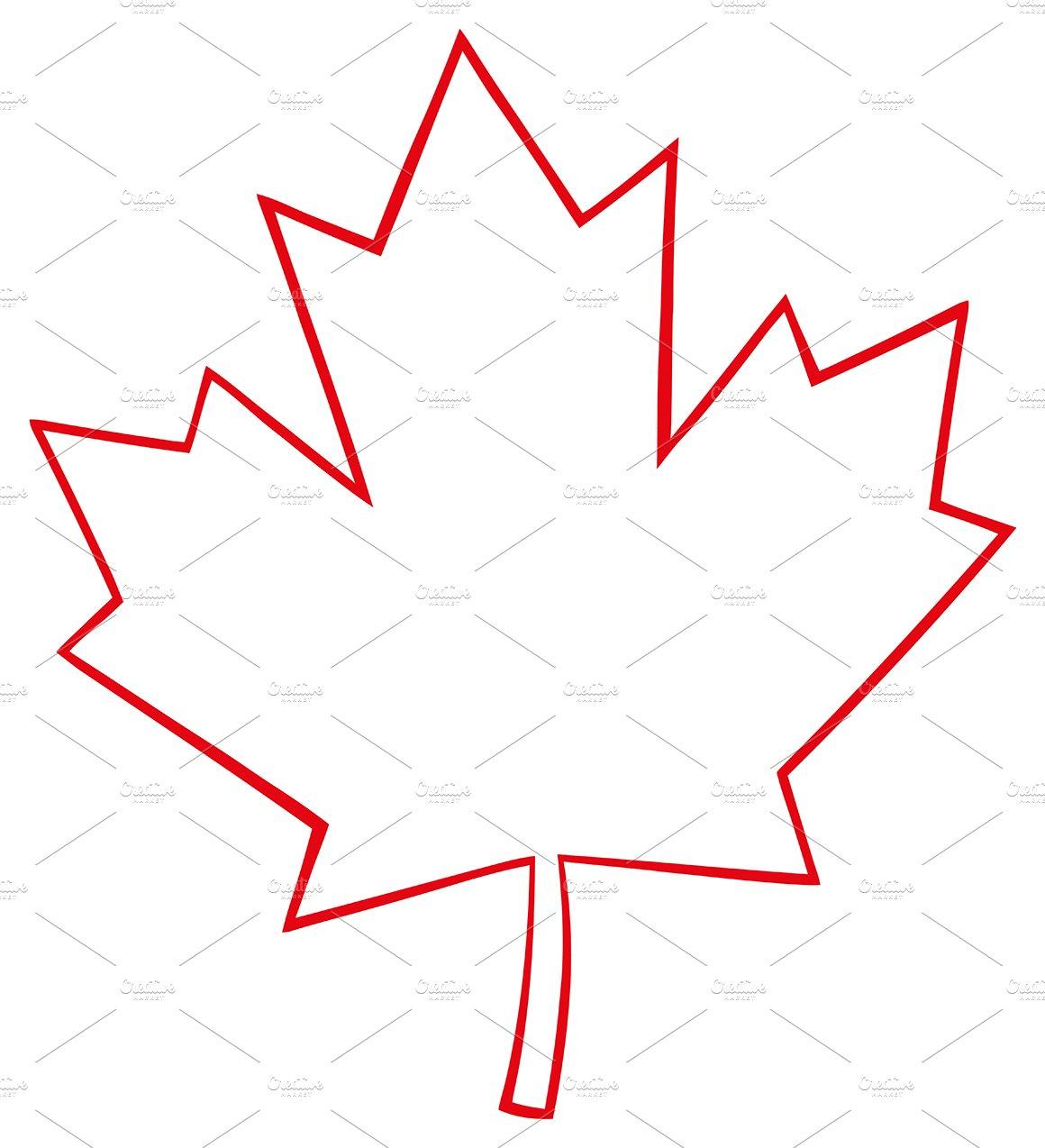 Canadian Maple Leaf Illustrations Creative Market