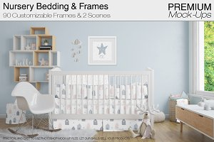 Nursery Crib & Frames Pack
