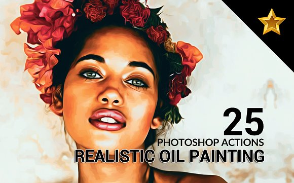 25 Realistic Oil Painting A-Graphicriver中文最全的素材分享平台