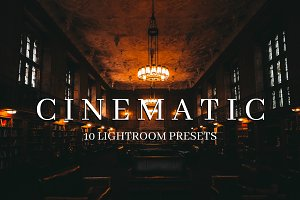 10 Cinematic Style Lightroom Presets