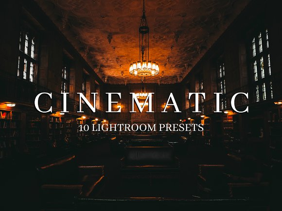 10 Cinematic Style Lightroo-Graphicriver中文最全的素材分享平台