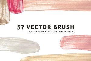 Vector Brush - Trend colors
