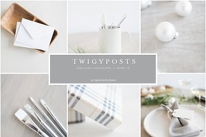 Holiday Mockups