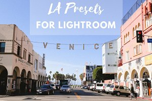 Dreamy LA Lightroom presets