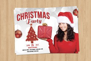 Christmas Party Invitation - V685