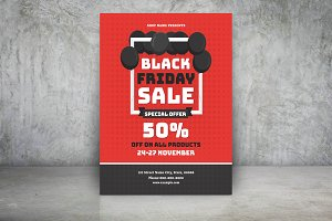 Black Friday Sale Flyer-V686