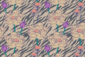 Vintage pattern. Old background