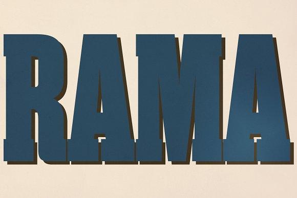 Rama Slab in Slab Serif Fonts