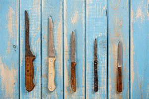 Set of knifes