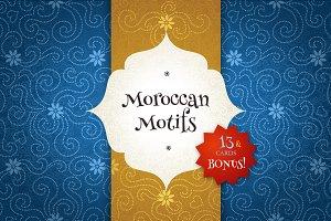 Moroccan Motifs Vol. 1
