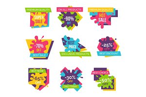Premium Quality -90% Off on Vector Illustration