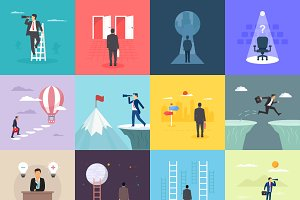 12 Opportunity Illustration Designs