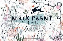 Black Rabbit   Font