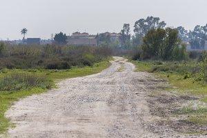 Rural path.