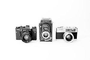 Vintage cameras - 2 photos