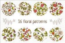 16 floral patterns