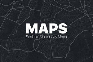 Vector City Street Maps