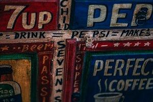 Vintage Pepsi Drawer