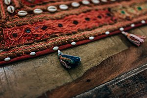Antique Carpet Decoration