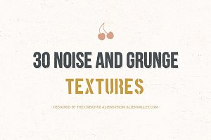 30 Noise & Grunge Textures